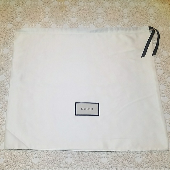 887f64ac86c9 Gucci Bags | White Satin Dust Bag Medium Marmont Dionysus | Poshmark